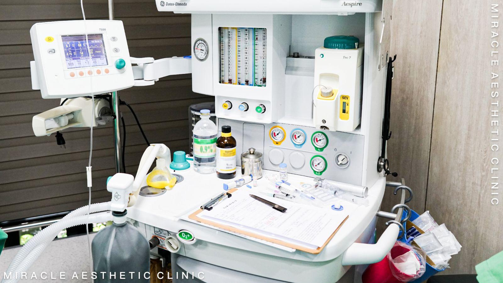 手術的安全 與麻醉設備息息相關
